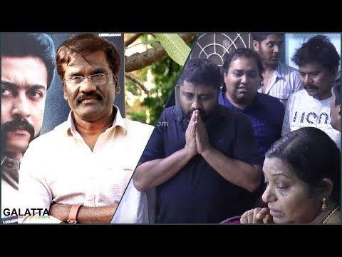 Heartbreakingly Sad Moment for Kollywood!!! DOP Priyan Last Rites   Celebs Pay Homage