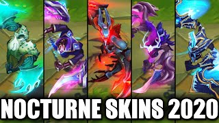 All Nocturne Skins Spotlight 2020 (League of Legends)