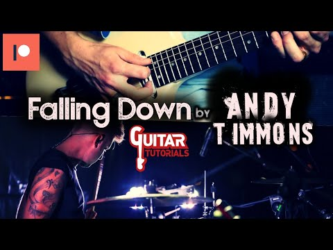 Andy Timmons - Falling Down - Guitar Backing Track