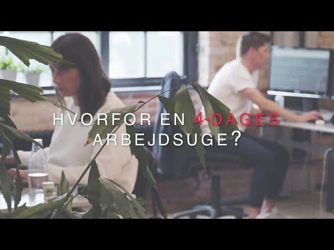 4-dages arbejdsuge hos IIH Nordic