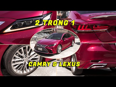 Phoenix Auto - Quá Trình Hô Biến CAMRY 2021 Thành LEXUS, Độ Full Option. Duy Nhất Tại Sài Gòn