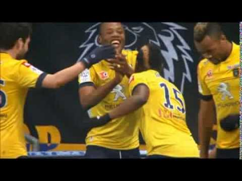 "Stopilla Sunzu & Emmanuel Mayuka ""Donchi Kubeba"" goal celebration in France - [BRILLIANT!!]"