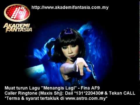 AF9 - Promo - Fina AF9 - Menangis Lagi