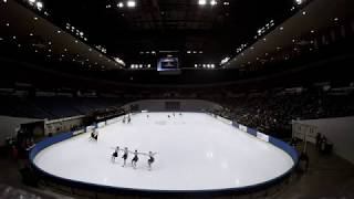 Time Lapse Video of Synchronized Skating at Different Intervals