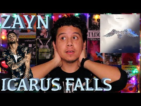 ZAYN 'ICARUS FALLS' Full Album Reaction Mp3