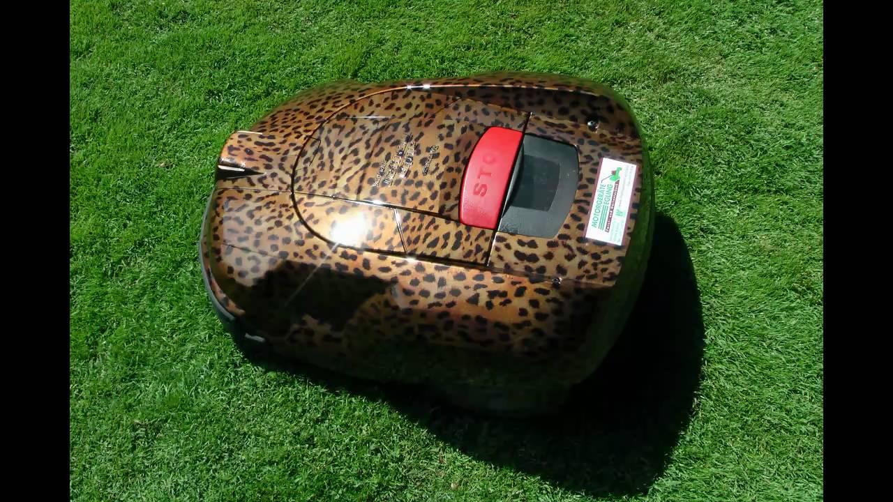 husqvarna automower leopard dekor youtube. Black Bedroom Furniture Sets. Home Design Ideas