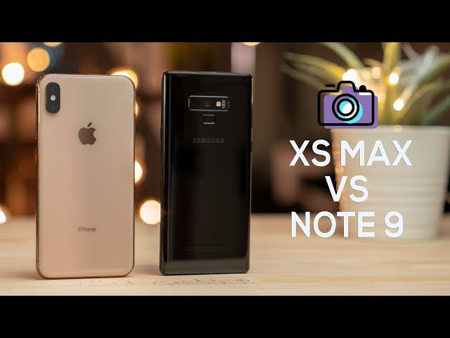 iPhone XS Max vs Galaxy Note 9 // Are these the same Cameras? ????