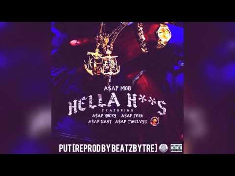 A$AP Mob - Hella Hoes Instrumental Feat. A$AP Rocky, A$AP Ferg, A$AP Nast, A$AP Twelvyy