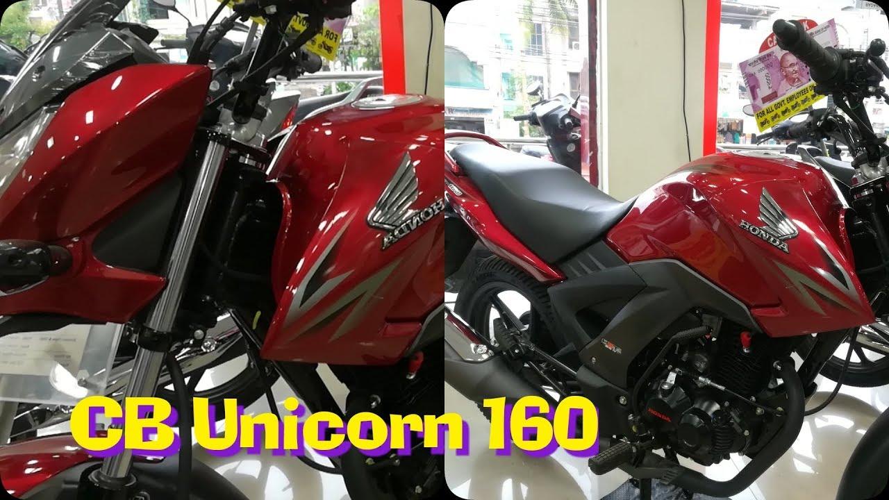 2018 honda cb unicorn 160