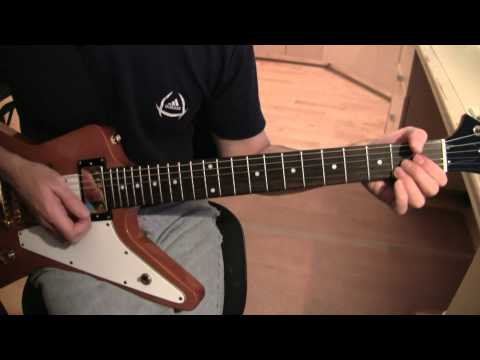 Part A16:  Beautiful Day (U2 Guitar Tutorial / Lesson) - Clean Chords after Pitch Shifted Lead