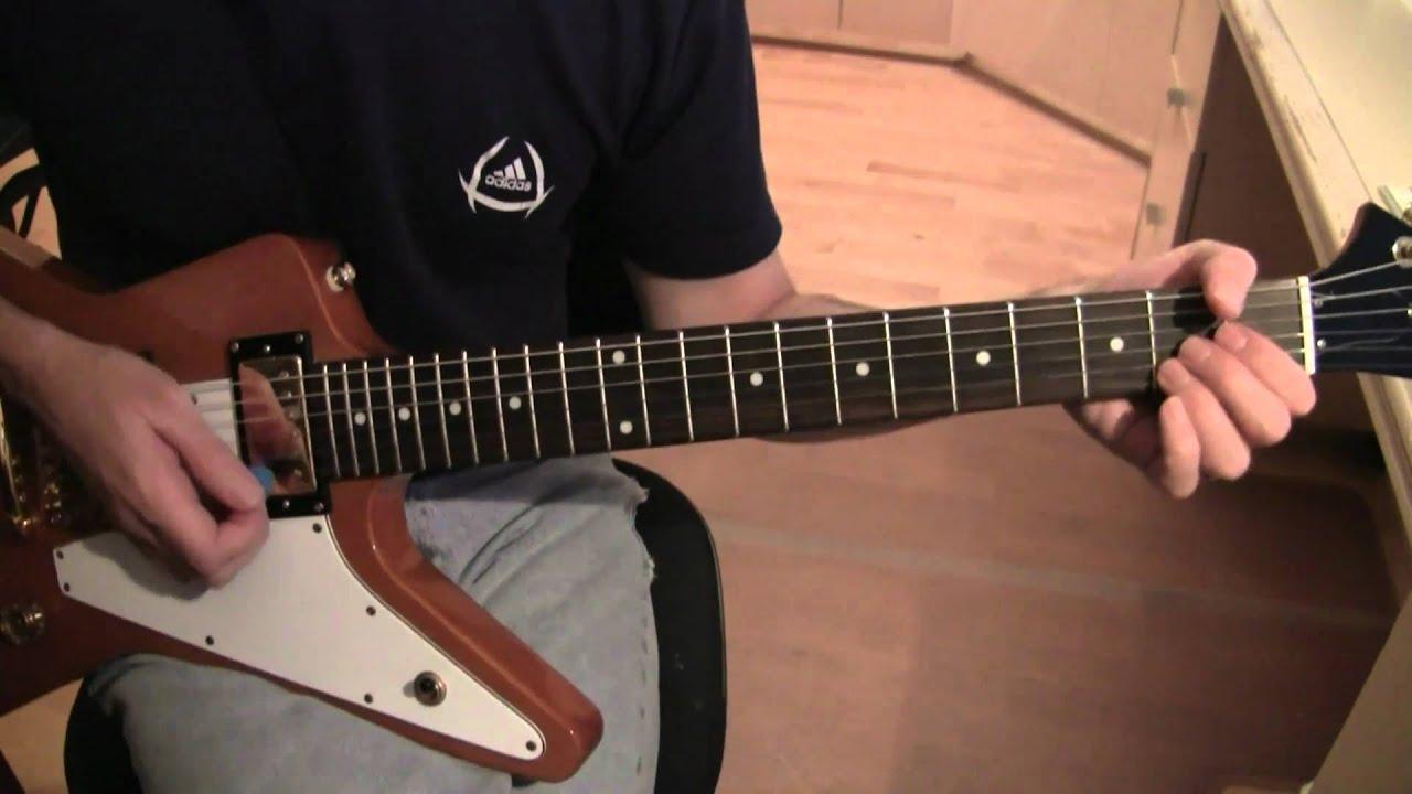 Part A16 Beautiful Day U2 Guitar Tutorial Lesson Clean Chords
