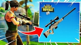 NOUVEAU MODE SNIPER SUR FORTNITE BATTLE ROYALE !