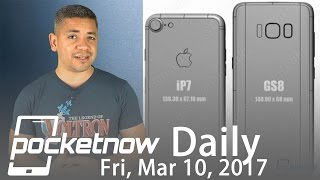 Samsung Galaxy S8 crazy dimensions, iPhone X screen & more   Pocketnow Daily