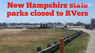 New Hampshire RV parks closed to RVers