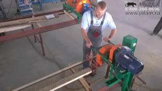видео Кромкообрезные станки