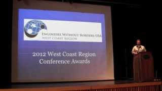 EWB West Coast Regional Conference October 20, 2012 Part 4