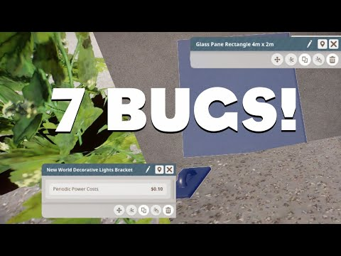 7 Bugs in Planet Zoo I want you to confirm on the Issue Tracker |