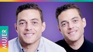 Rami Malek y su hermano gemelo son unos profesionales de la mentira