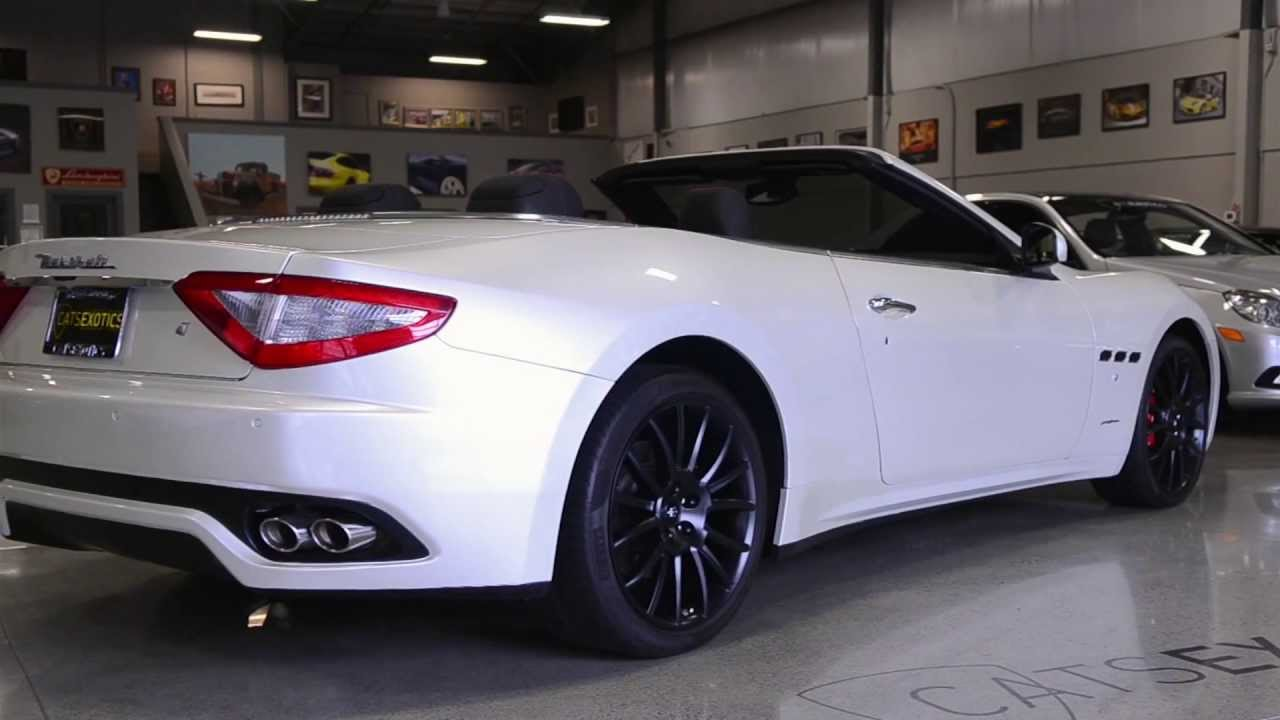 Used Maserati Granturismo >> 2011 Maserati Granturismo Convertible FOR SALE - YouTube