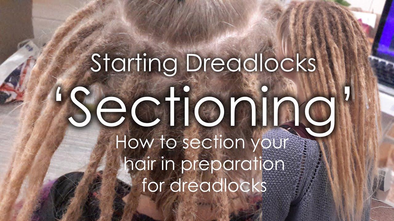 How to section dreadlocks - Starting Dreadlocks ...
