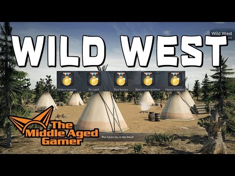 Transport Fever - America Campaign - Wild West - 5 Gold Medal Walk-Through