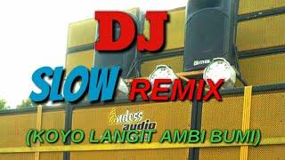 Dj terbaru Slow Remix (Koyo Langit Ambi Bumi_Deeren)