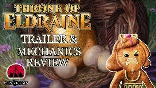 Throne Of Eldraine Trailer and Mechanics Review