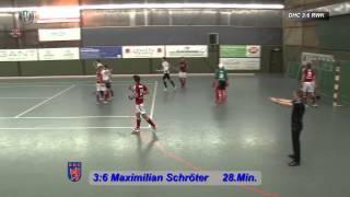 1.Hallehockey-Bundesliga Herren DHC:RWK 5:9 22.12.2012