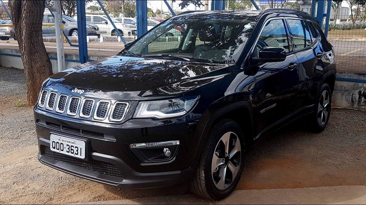Jeep Compass Longitude Flex 2018 Locacao Na Unidas E Localiza