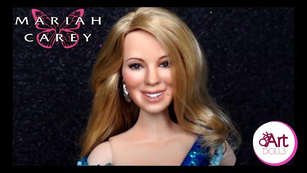 Mariah Carey Ooak Doll By Oskart Dolls Without You Youtube