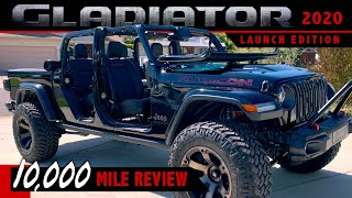 Jeep Gladiator Rubicon Launch Edition - 10K Mile Review
