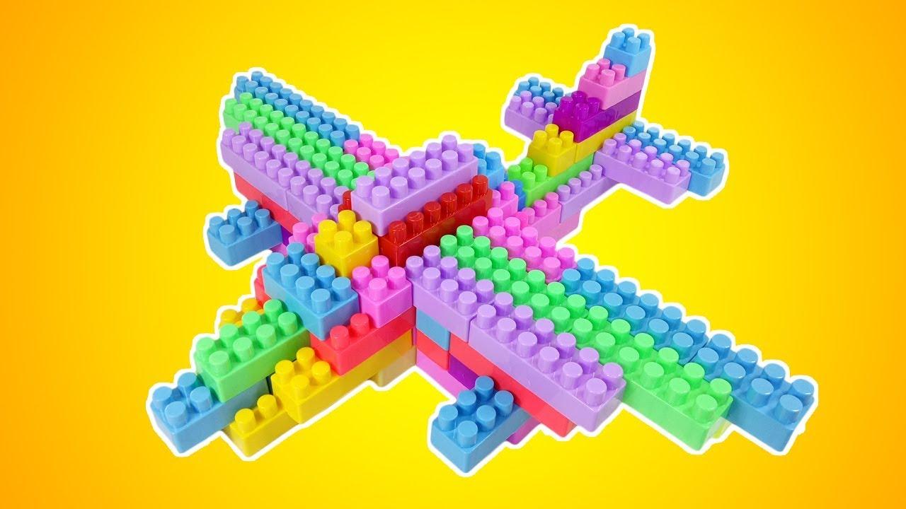 Cara Membuat Pesawat Dari Lego   Airplane Building Blocks ...