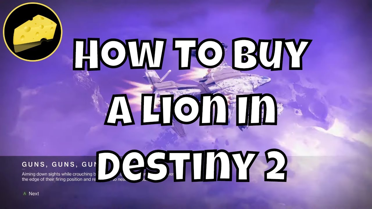How To Buy A Lion In Destiny 2 Guide - Spiders Black Market
