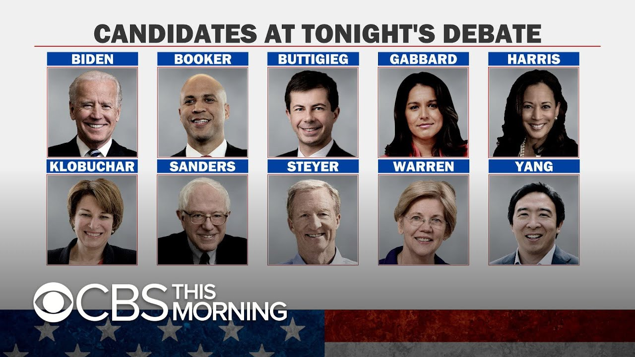 Tonight's Democratic Debate: When It Is and What to Watch ...