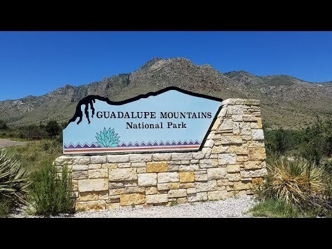 Pine Springs Campground Overview Guadalupe Mountains