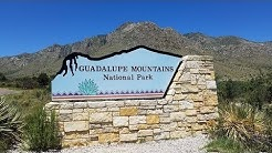 Pine Springs Campground Overview - Guadalupe Mountains National Park