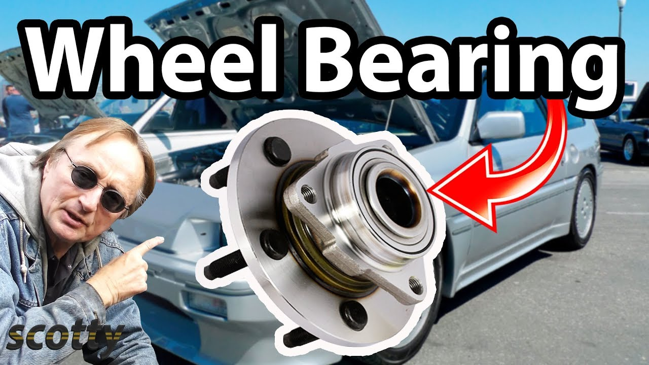 How To Replace A Front Wheel Bearing In Your Car Youtube 94 Honda Civic Fuel Filter