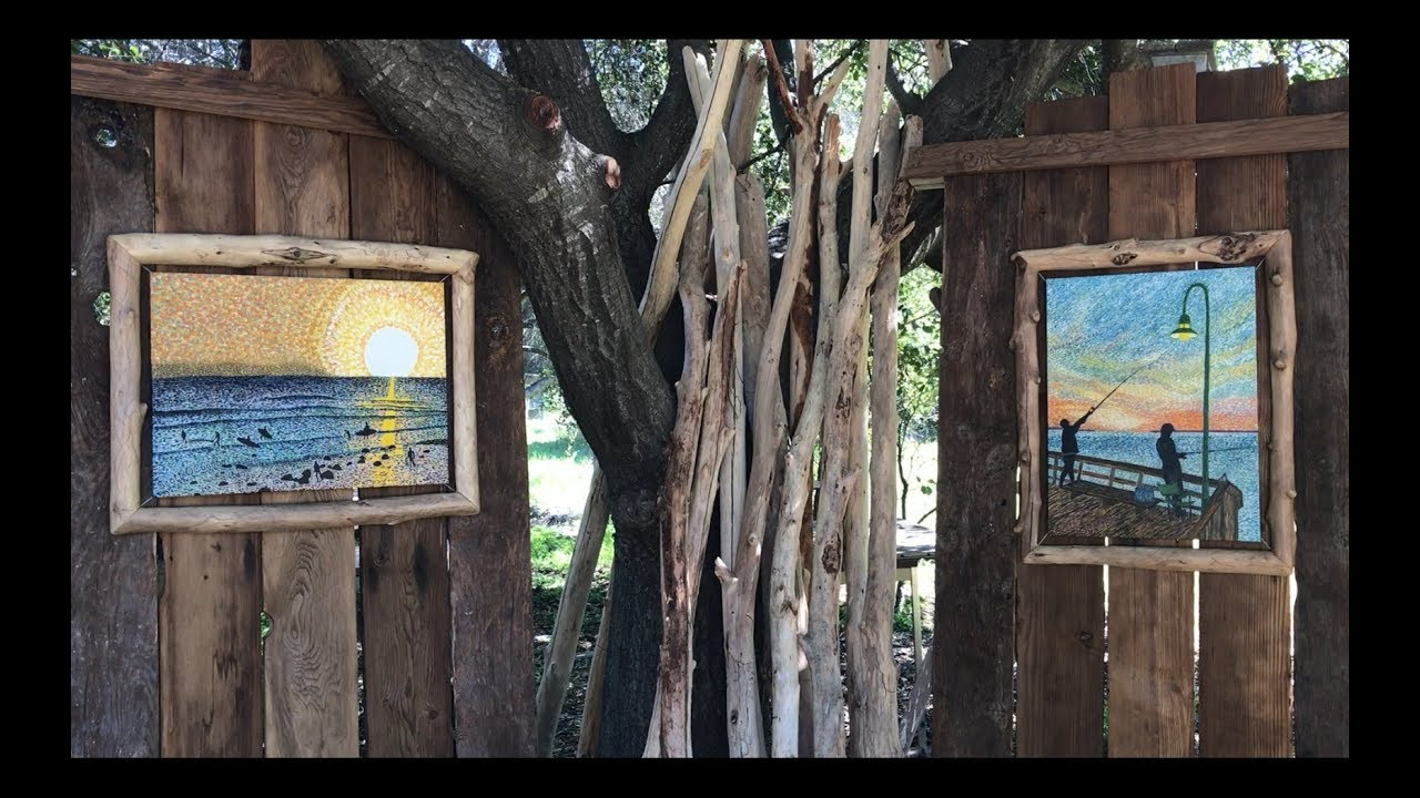 Driftwood Picture Frame Youtube