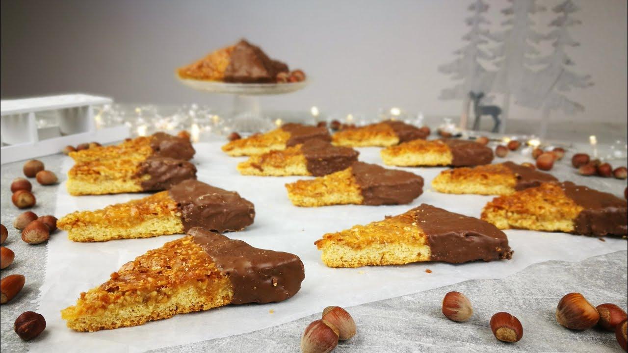 nussecken rezept saftige nussecken schnell einfach weihnachtsrezepte kikis kitchen youtube. Black Bedroom Furniture Sets. Home Design Ideas