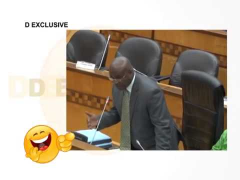 Comedians at the Ghana parliament