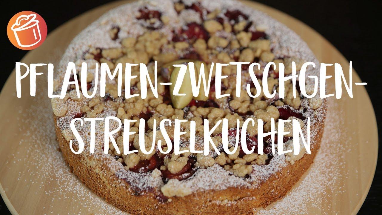 Pflaumen Zwetschgen Streuselkuchen Rezept Chochdoch Mit Mimi Youtube