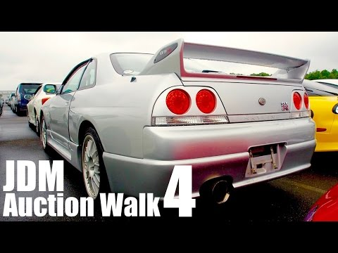 Japan Auction Walkaround #4 - Sorry if you get Addicted to JDM Cars