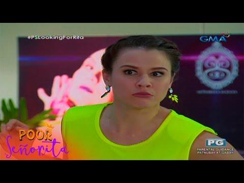 Poor Señorita: Piper impersonates Rita