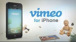 Vimeo iPhone App and Website Review and Demo