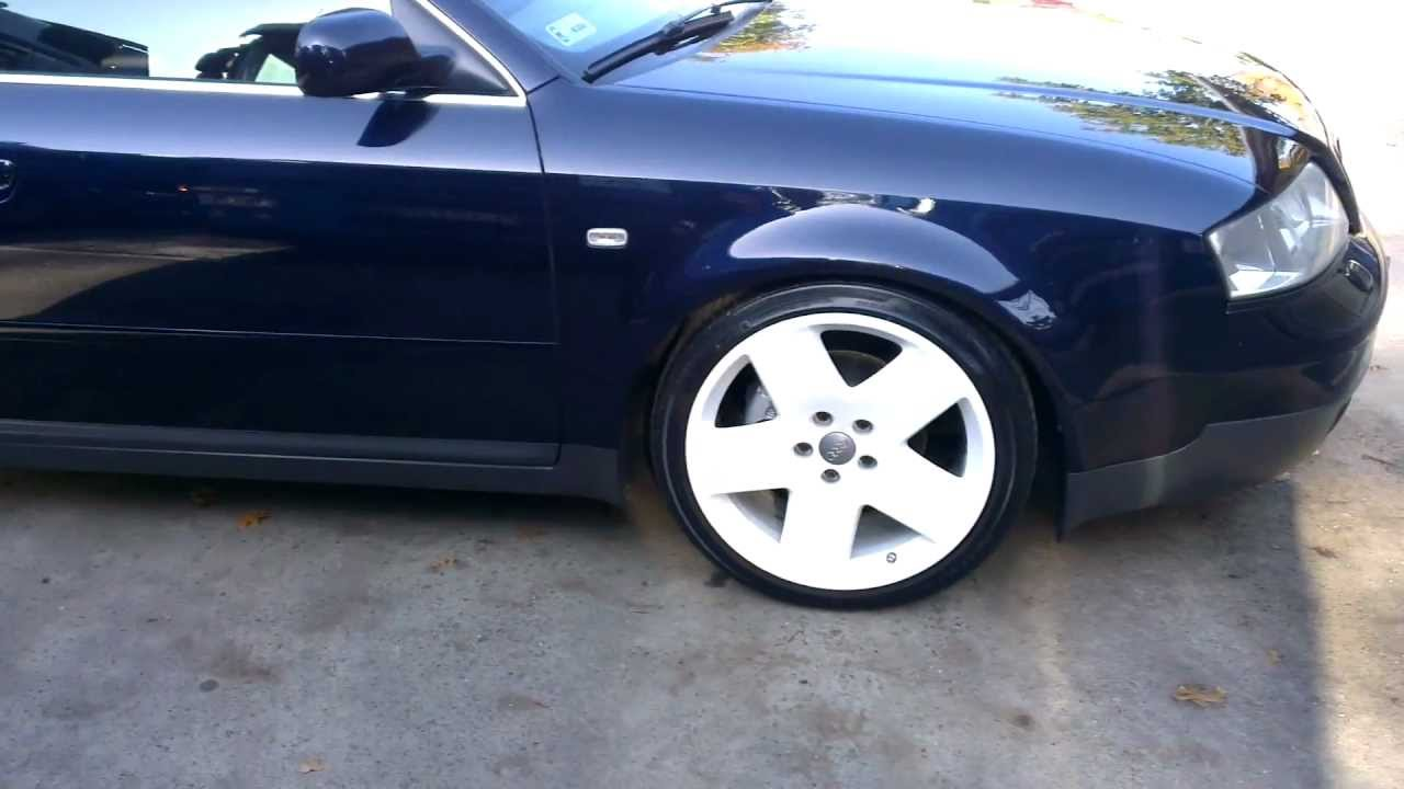 Lowered Audi A6 C5 Youtube