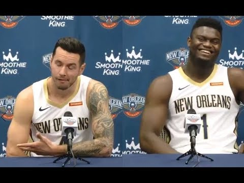 JJ Redick let Zion Williamson know he has never missed the ...