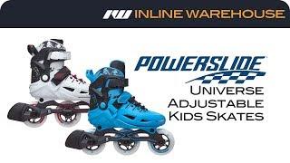 2017 Powerslide Kids Universe Adjustable Skates Review
