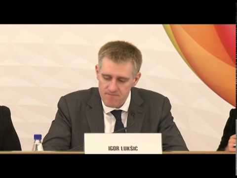 2015 05 11   Budva Igor Luksic Deputy Prime Minister and Minister of Foreign Affairs