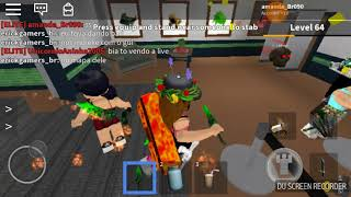 Playing with friends ❤ Roblox (Murder mistery)
