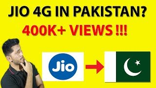Jio 4G in Pakistan? | Pakistani Reaction on Jio [Urdu/Hindi] 4K HD 😊 ✅